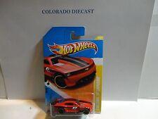 2011 Hot Wheels #11 Red Custom Camaro w/PR5 Spoke Wheels