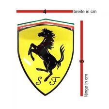 Original Ferrari Aufkleber / Sticker  3D SF 4x5 cm