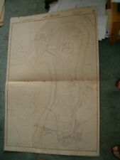 Vintage Admiralty Chart 1750 AUSTRALIA - PORT ADELAIDE 1913 edn
