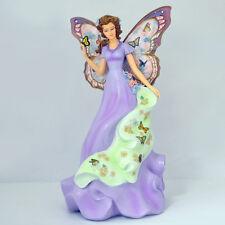Captivating Comfort Angel Enchanted Hope Lena Liu Figurine - Bradford Exchange