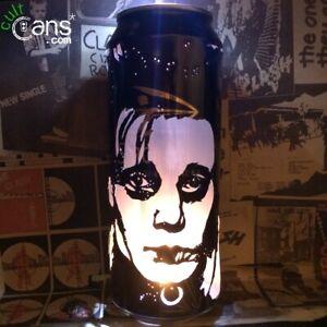 Johnny Depp 'Edward Scissorhands' Beer Can Lantern! Tim Burton - Unique Gift!