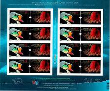 Canada Scott # 2205 International Polar Year Uncut Stamp Sheet MNH
