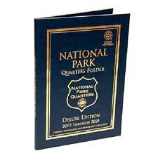 Whitman DELUXE Coin Folder 2875 National Park Quarters 2010-2021 P & D Mints