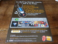 THE ROLLING STONES - BIGGER + DISCO!FRENCH PRESS ADVERT