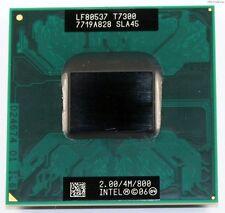SLA45 Intel Core 2 Duo Mobile T7300 2GHz/4M/800MHz Socket P Processor