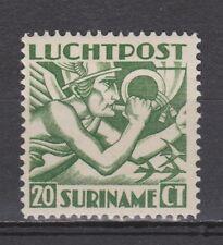 Luchtpost LP 3 MLH ong Suriname 1930 Mercuriuskop airmail luchtpostzegel