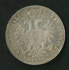 Autriche : Vereinsthaler 1858 A  Argent