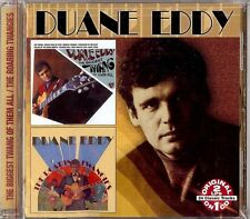 DUANE EDDY - THE BIGGEST TWANG OF .../THE ROARING TWANGIES CD 2002 COLLECTABLES