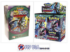 Sun & Moon Guardians Rising Booster Box & Prerelease Kit Pokemon Trading Cards