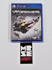 Lawbreakers Sony PS4 (PlayStation 4) Limited Run Games New Sealed