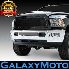 13-17 RAM Trucks 2500+3500 Rivet Studded+Black Mesh Grille+Shell Packaged Grille
