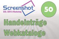 📗 50 Handeinträge in Webkataloge ⭐Organisch  ✋SEO Handeintrag  📈Backlinkaufbau