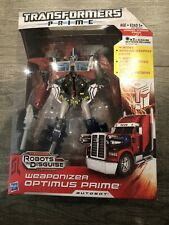 Transformers Robots In Disguise Weaponizer Optimus Prime Leader  RID New!