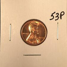 1953 P Lincoln Wheat Cent Gem BU