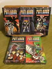 Patlabor: The New Files complete series / NEW anime on VHS by U.S. Manga Corps