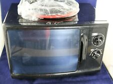 Road Pro 12V DC Trucker Mobile Microwave 0.6 Cu Ft 700 Watts Connects to Battery