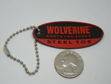 Rubber Wolverine Boots and Shoes Steel Toe Hang Tag - Keychain