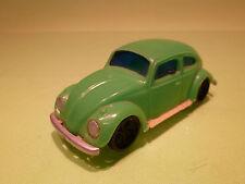 PLASTIC PLASTIK VW VOLKSWAGEN KAFER - GREEN - 1:43 - GOOD CONDITION