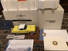 New ListingFranklin Mint 1956 Ford Thunderbird Russian Island Exclusive L.E. #884/1000