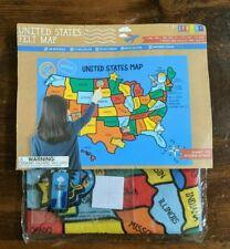 USA WALL MAP Horizon Group Felt Educational Home School Homeschool Teacher