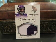 Panini Flawless Silver Game Worn Jersey Vikings Cordarrelle Patterson 5/25  2014