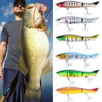 Fishing Bait Lure Wobbler 12CM /13G Minnow plastic artificial fishing R8O5