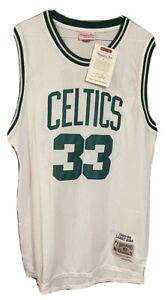 NWT Mitchell & Ness Larry Bird Size 50 XXL Boston Celtics NBA Jersey