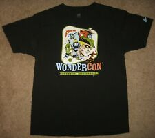 2017 Wondercon Anaheim California T Shirt Michael Cho Art - Dc Comics - Black L