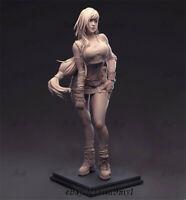 Tifa FINAL FANTASY Unpainted Resin Kits Model GK Figurine 3D Print 30cm 1/6