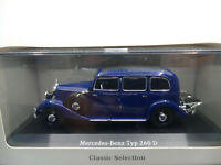 IXO Dealer Edition 1936 Mercedes Benz 260 D W136 Blue 1:43 NEW