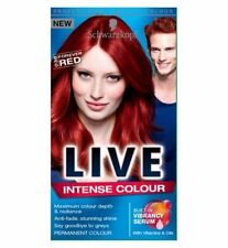 Red Unisex Hair Colourants with Contains Vitamins