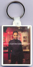 NEW RARE Star Trek: Enterprise KEYRING Ensign HOSHI SATO and NX-01 MINT!