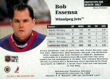 1991-92 Pro Set Preview Promos #5 Bob Essensa