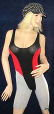 sexy Body mit kurzem Bein, Bunt, Baumwoll Dancewear, Gymwear, Gr. S, Guido Unger