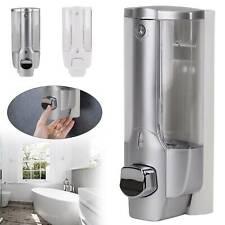 BATHROOM SHOWER SOAP SHAMPOO GEL DISPENSER PUMP WALL MOUNTED 350ML