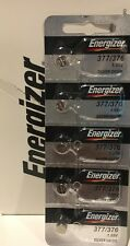 5 x FRESH Energizer 377 376 WATCH BATTERY SR626SW SR626W Silver Oxide Battery