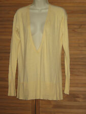 Old Navy Yellow Pull Over Sweater Long Sleeve Size M #CL140