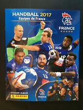 french Panini handball 2017 Equipe de France sticker album neuf vierge