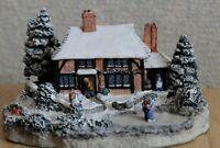 WINTER by Kate Woodlock Danbury Snow Cottage, Excellent Condition
