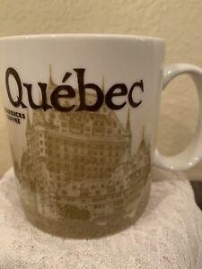 Starbucks Quebec 16 oz collector series 2012