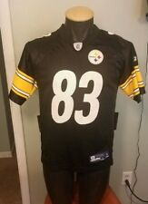 535019596 Heath Miller Pittsburgh Steelers Jersey Youth Large Reebok NFL