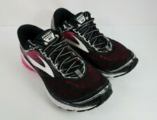 6cffc5c4287f3 Brooks Ghost 10 Women s Size 7 Road Running Shoes Black Pink Coral  1202461B067
