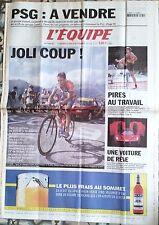 L'Equipe Journal 25/7/2002; PSG à vendre/ Boogerd en solitaire/ Pires au travail