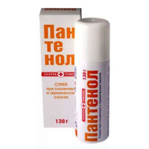 Panthenol spray Ambulance for burns for face / body 130g