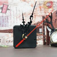 Quarz Uhrwerk Movement Quartzuhrwerk Mechanism Mit 3 Zeigersätzen Schwarz DIY