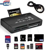 ✅ALL-IN-ONE Kartenleser Speicherkarten USB Kartenlesegerät für CF/SD/xD/MS/SDHC✅