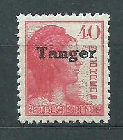 Tanger Sueltos 1939 Edifil 120 ** Mnh