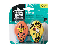 Tommee Tippee Baby Soother Dummy Holder Soother Dummy Clip Set Of 2