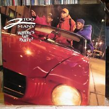 """[RAP]~NM 12""""~2 TOO MANY~JAZZY JEFF~Where's The Party~{x4 Mixes / Remixes]~{1992]"""