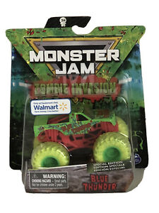 Monster Jam Zombie Invasion Blue Thunder Special Edition